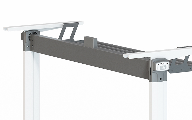 NAZ furniture alloy aluminum training table for sale-6