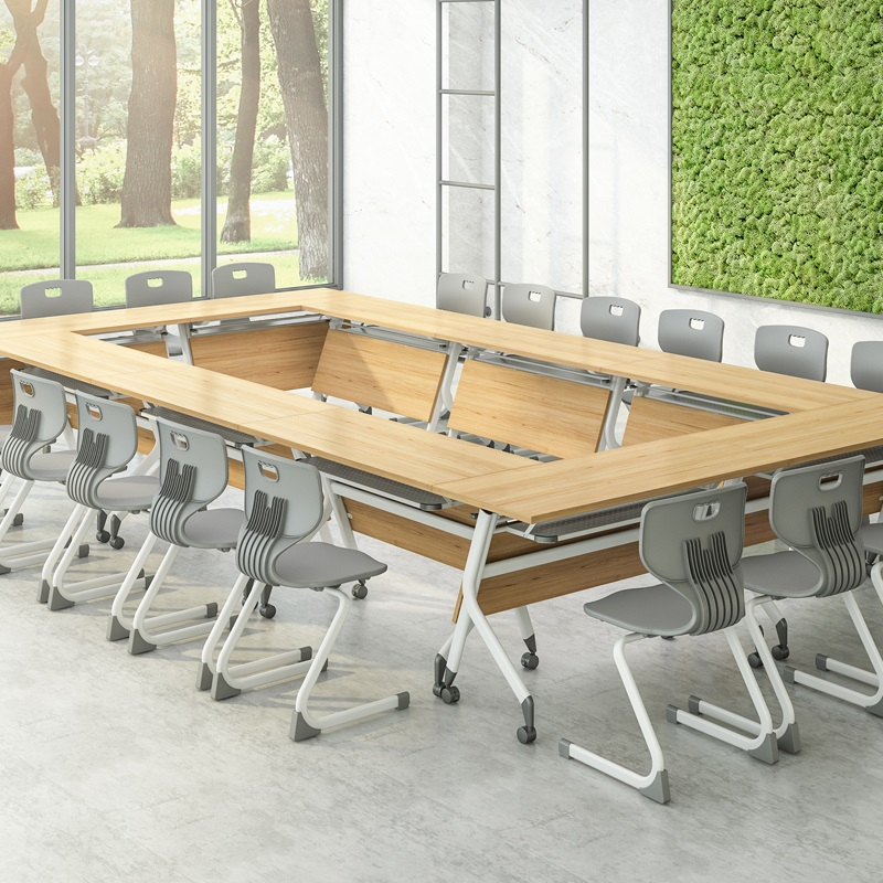 NAZ furniture ft010c flip top conference tables on wheels-8