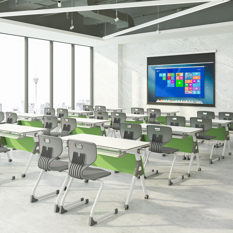 durable portable conference room tables ft015c on wheels for school-8