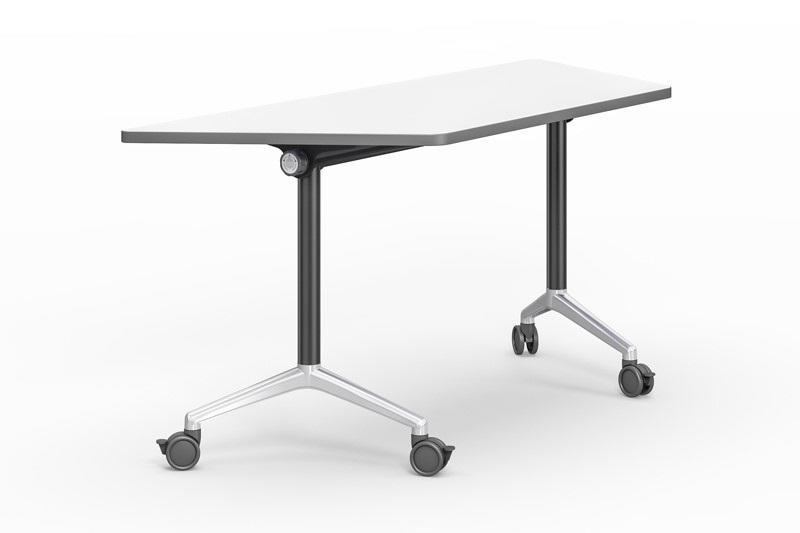800/1200/1400/1600/1800MM Folding trapezoid training table FT-031