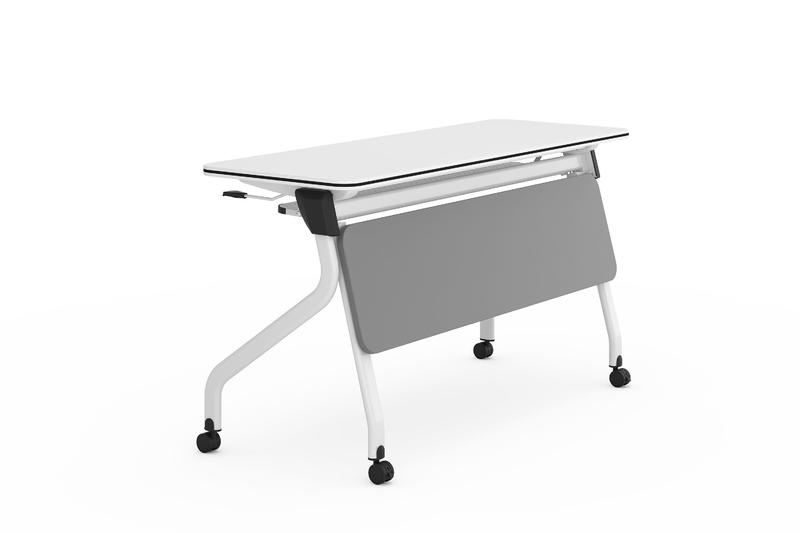 Nesting Folding training table  save space FT-011