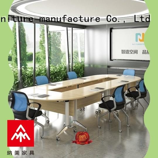 NAZ furniture movable modular conference table for sale for training room