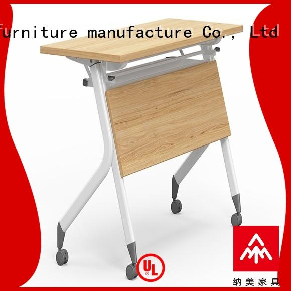 NAZ furniture ft012 computer training tables with wheels for school
