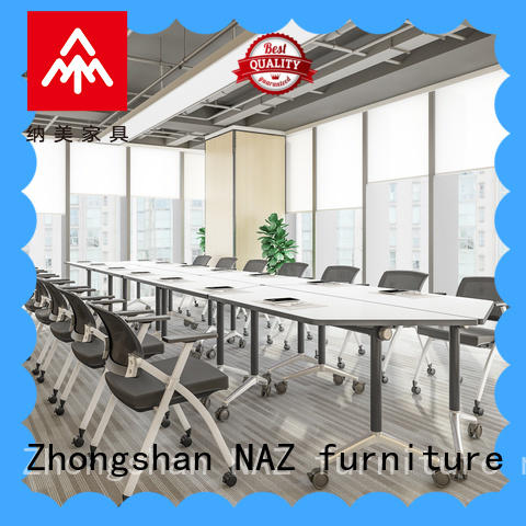 NAZ furniture comfortable modular conference room tables manufacturer for office