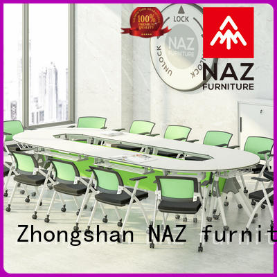 NAZ furniture frame 10 conference table on wheels