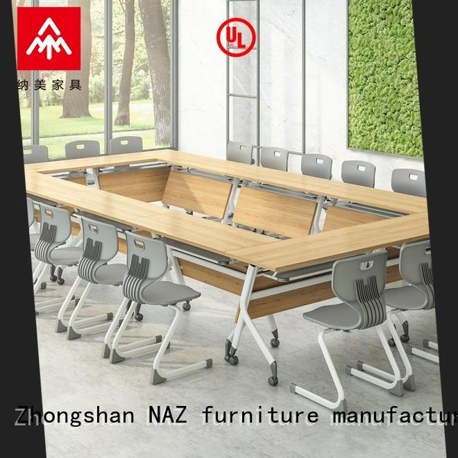 NAZ furniture professional conference tables on wheels for training room