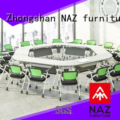 NAZ furniture end portable conference room tables manufacturer for training room