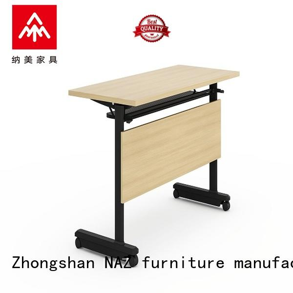 computer training tables with wheels castors with wheels for school