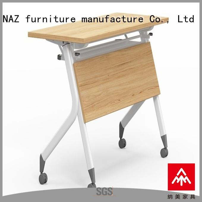8001200140016001800mm training tables and chairs wheels for school NAZ furniture