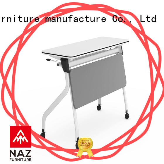 NAZ furniture wheels training table design for conference for school