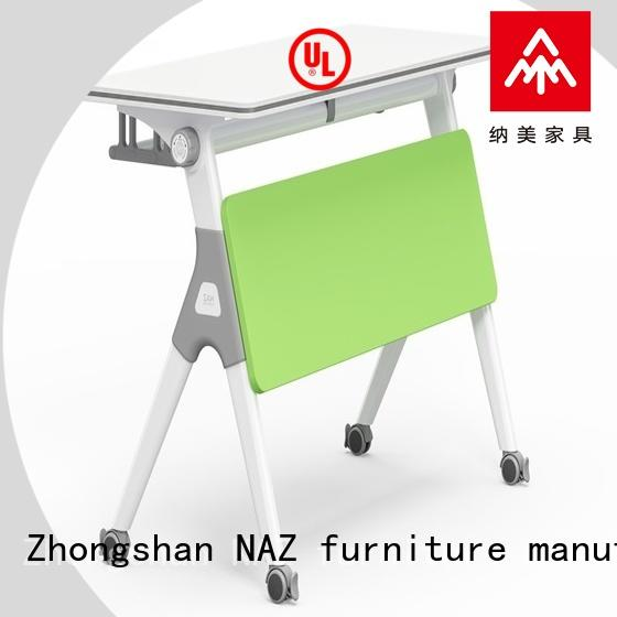 wheels folding training table supply for meeting room NAZ furniture
