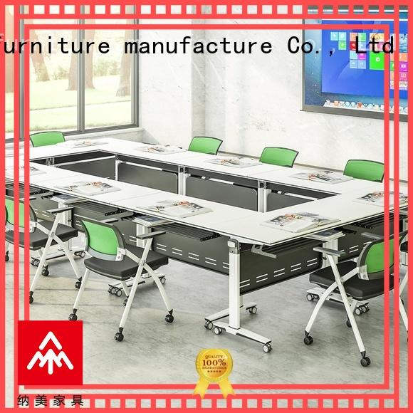Folding conference table elegant shape FT-008C 6/8/10/12/16/20Persons
