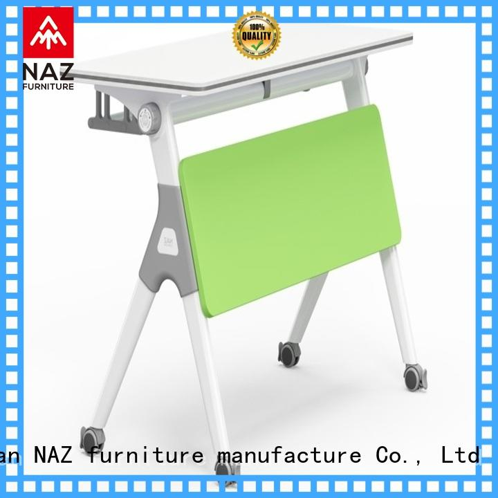 NAZ furniture on mobile training tables for sale