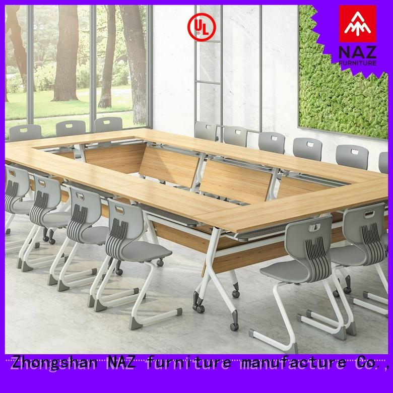 NAZ furniture movable small conference table manufacturer for school
