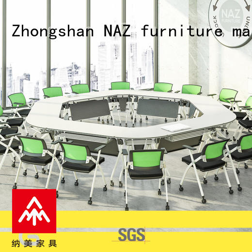 movable oval conference table on wheels