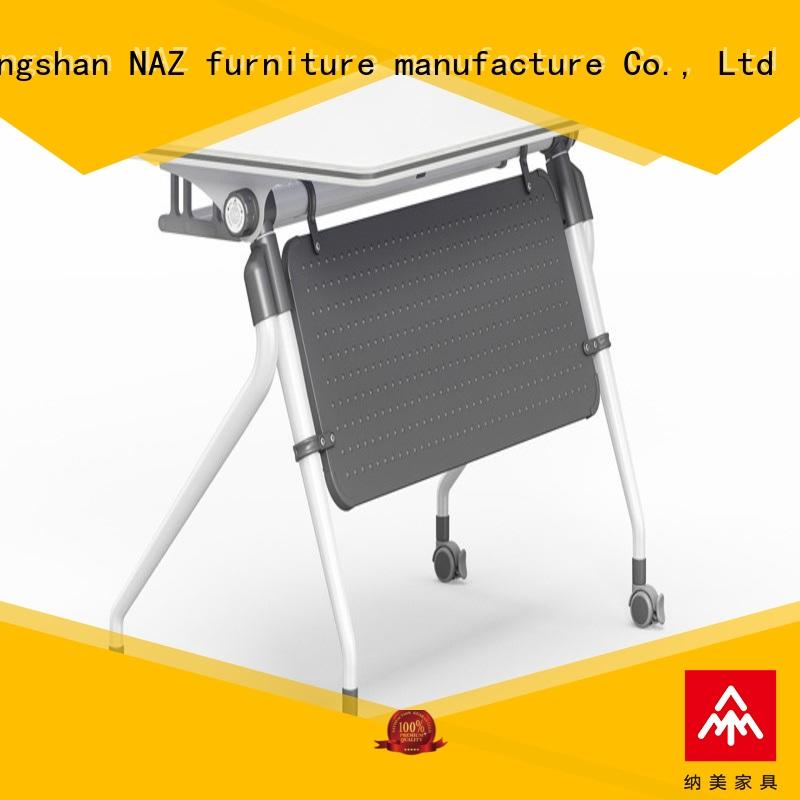 aluminum portable training table trapezoid meeting room NAZ furniture