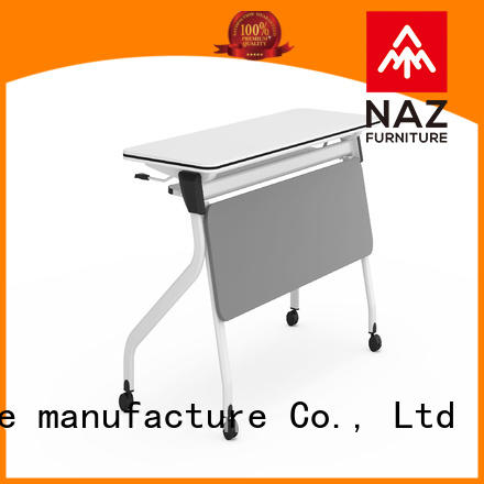 trapezoid flip top training tables multipurpose for sale for meeting room
