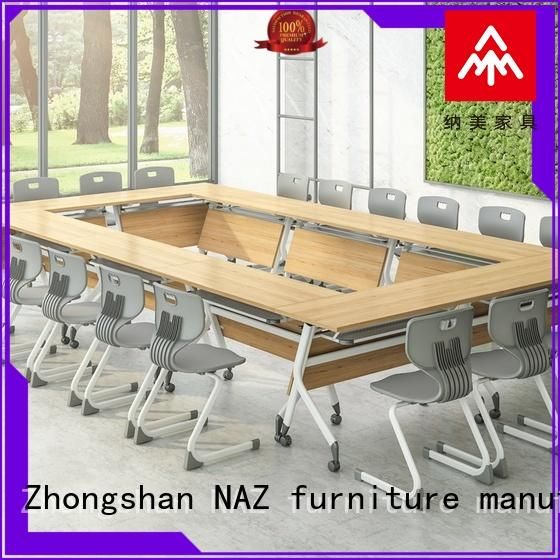 durable boardroom table versatility on wheels for training room