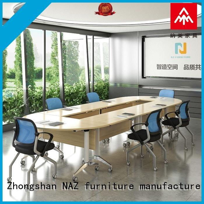NAZ furniture durable conference room tables folding manufacturer for meeting room