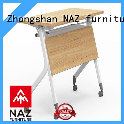 professional training room tables aluminum with wheels for office