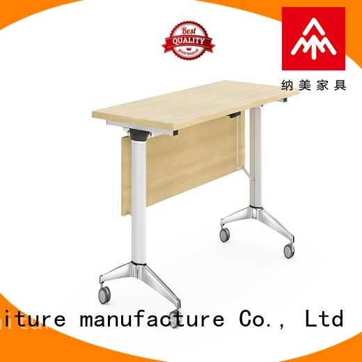 writing 18 x 72 training table with wheels for meeting room NAZ furniture