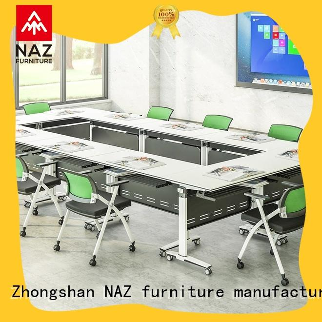 NAZ furniture end white conference table manufacturer for meeting room