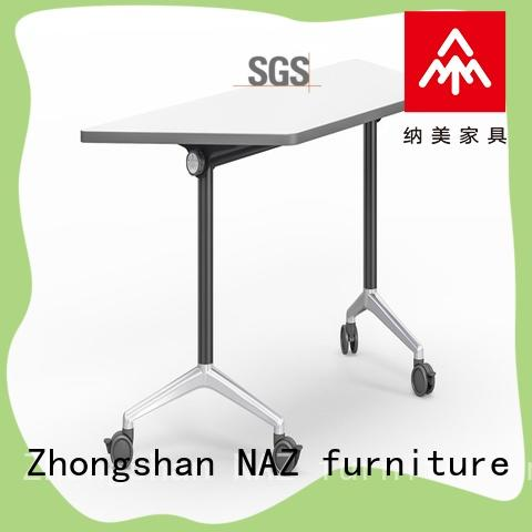 NAZ furniture trapezoid office training furniture metal for meeting room
