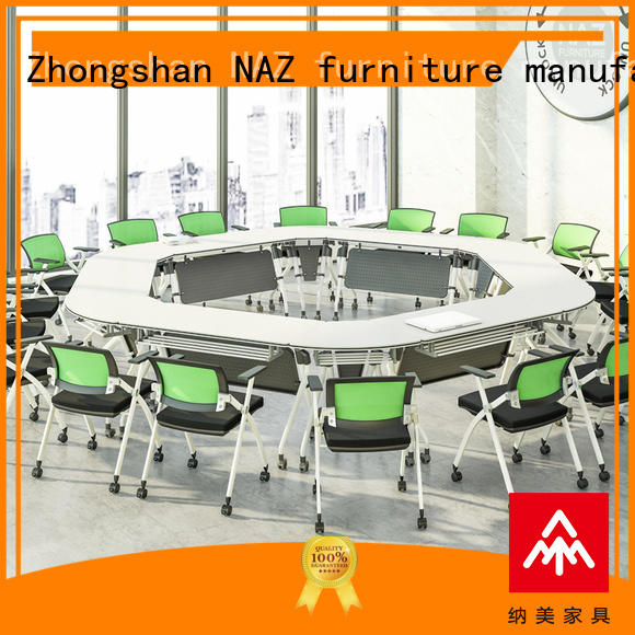 NAZ furniture durable modular conference table manufacturer for school