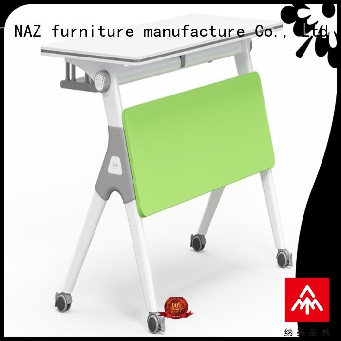 NAZ furniture professional mobile training tables for sale for training room