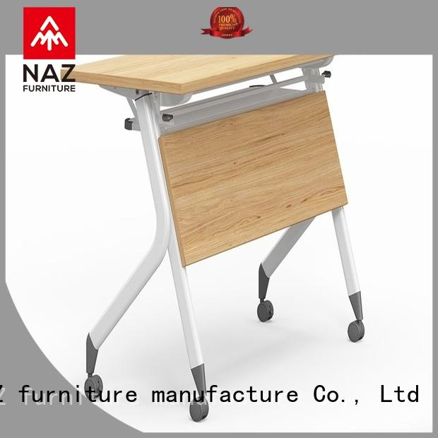 NAZ furniture aluminum flip top training tables for conference for office