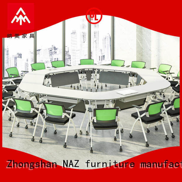 comfortable conference table ft017c on wheels for school