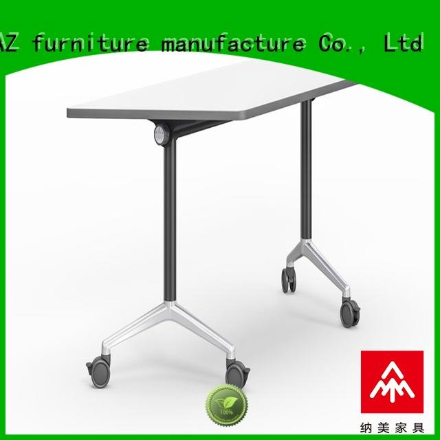 ft012 boardroom training table with wheels for training room NAZ furniture