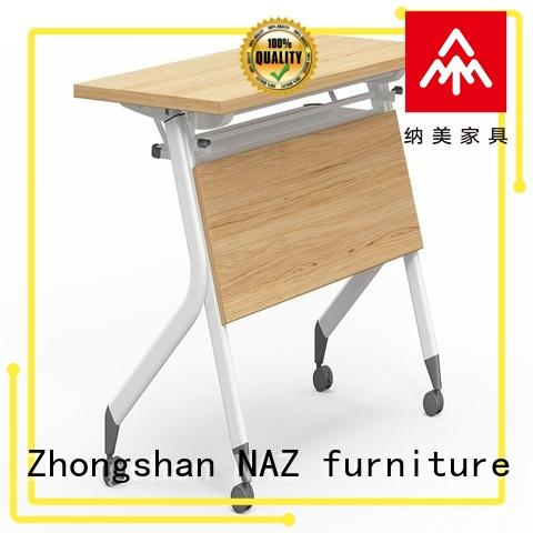 800/1200/1400/1600/1800MM Folding training  table with wheels FT-013