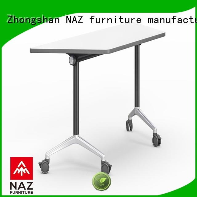 NAZ furniture trapezoid training room furniture supply for meeting room