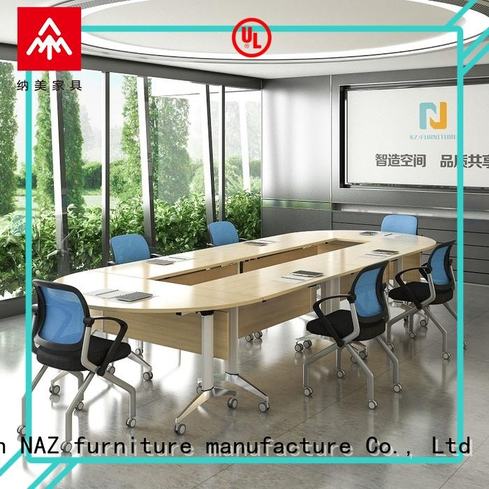 ft017c conference table and chairs for conference for school NAZ furniture