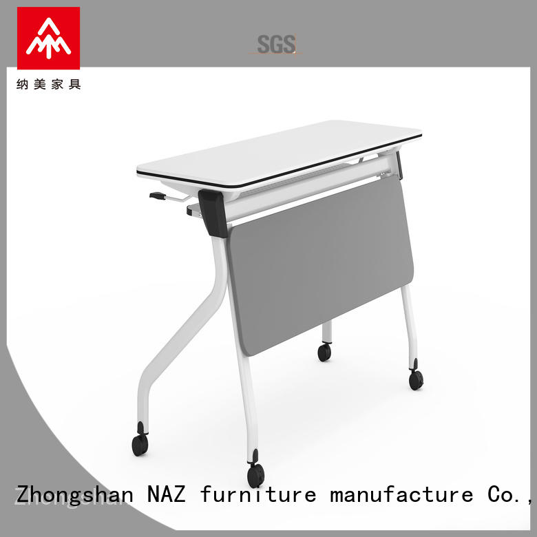 front training room tables with wheels for school NAZ furniture