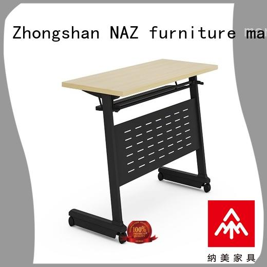 NAZ furniture ft001 folding training table for conference for school