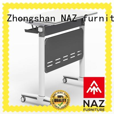professional training tables and chairs aluminum with wheels for home