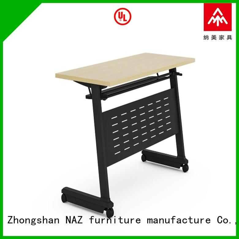 800/1200/1400/1600/1800MM Folding training table with castors FT-002