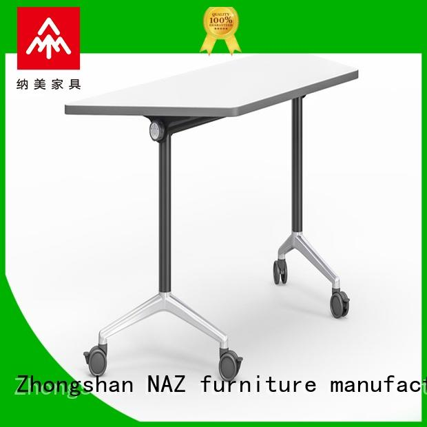 800/1200/1400/1600/1800MM Folding trapezoid training table FT-031