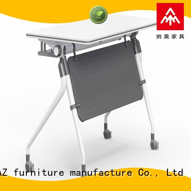 NAZ furniture professional nesting training tables supply for training room