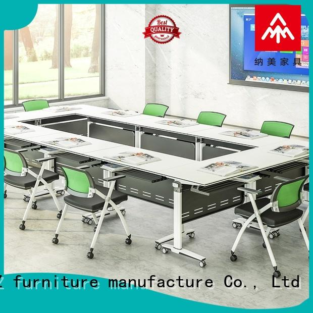 professional u shaped conference table meeting on wheels