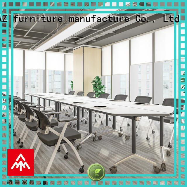 NAZ furniture steel folding conference tables for sale for office