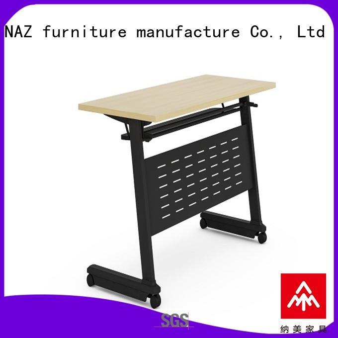NAZ furniture designed flip top training tables supply