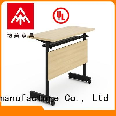NAZ furniture designed flip top training tables with wheels for school