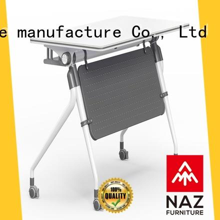 NAZ furniture castors training tables and chairs with wheels for home