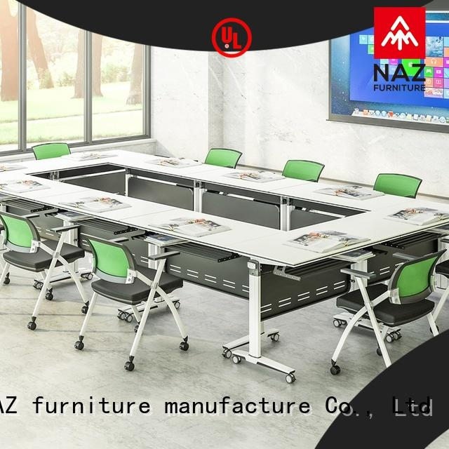 NAZ furniture durable small conference table on wheels