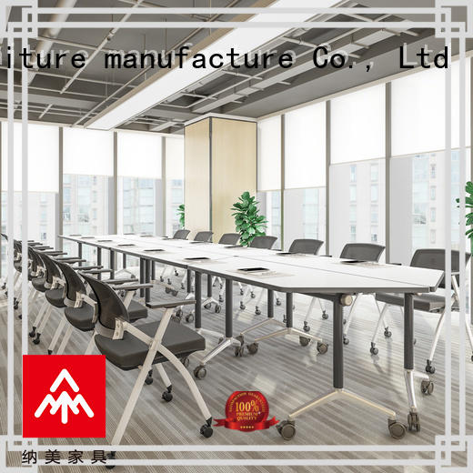 NAZ furniture movable flip top conference tables for conference