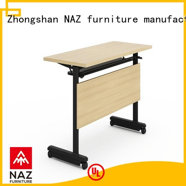 NAZ furniture trapezoid training room furniture for sale for school
