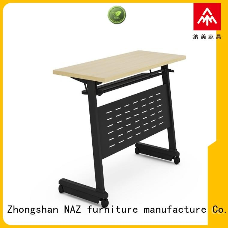 writing mobile flip top training tables supply for home